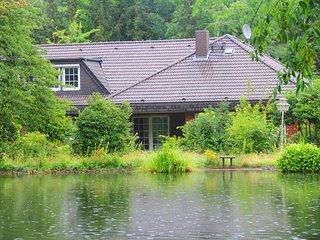 Ferienhaus Villa EMG Hannover Messe Celle, Familien Gruppen 16 Personen, Garten