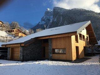 Chalet luxe Samoëns 14p, proche ski/centre village