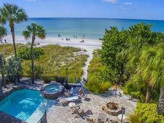 Beach Trail Beauty Beach Front pool home with fire pit