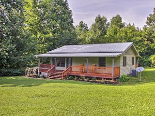NEW! Cosby Cabin w/ 2 Porches, Deck & Game Room!