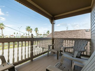 NEW LISTING! Cozy cottage w/double deck & foosball - walk to the beach & pier
