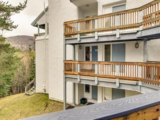 Alpine escape with three shared pools, hot tub, tennis, fitness & game room!