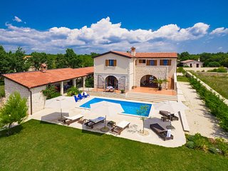 4 bedroom Villa in Cabrunici, Istarska Zupanija, Croatia : ref 5082845