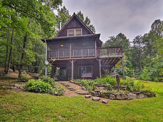 Hot Springs 'Paint Rock Cabin' Near Nat'l Forests!