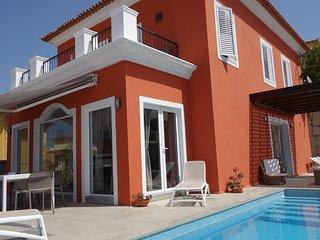 Luxus-Villa del Duque in Chayofa, Traumlage, Privatpool beheizt, Meerblick
