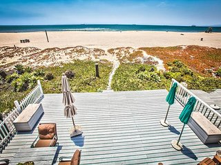 Oceanfront Stunner 3BR w/ Balcony & Direct Beach Access