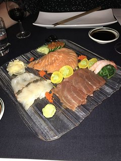 Wonderful Sushi at one of the restaurants on our resort, part of the 5 star Inter Continental Hotel