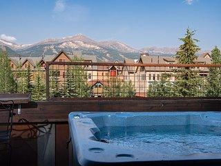 Mainridge Townhome Hot Tub Downtown Breckenridge Colorado Vacation Rental