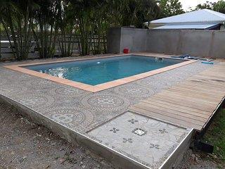 'Caraibe' de Baz'Creole, piscine et plages 250 m
