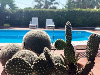 Villa con piscina Capo Vaticano-Tropea 8 posti letto