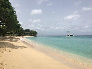 The beautiful Gibbes beach.