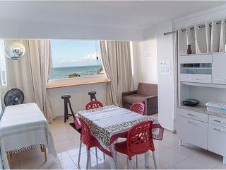 Lindos apartamentos com vista para o mar em Ponta Negra, Natal