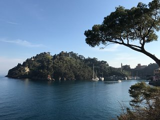 Amazing view on Portofino
