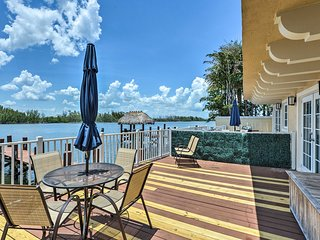 Hollywood House on Intracoastal Waterway w/Dock!