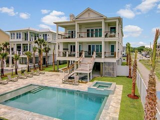 Sand Serenity | Oceanfront, Pool, Large Kitchen & Private Beach Access