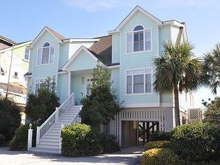 Ocean Camp on Isle of Palms ~ OCEAN FRONT, Private Pool & Beach Access