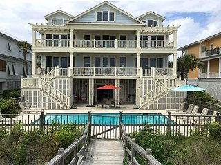 C Breeze on Isle of Palms ~ OCEAN FRONT, Private Pool & Access to Beach, Elev
