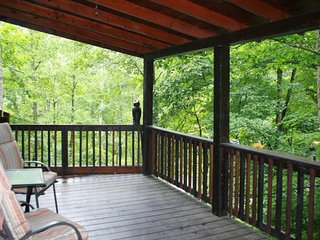 NEW LISTING! Dog-friendly cabin in woods w/shared pool, hot tubs & tennis