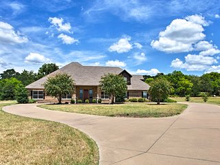 NEW! Stallion Lake Ranch Home w/Patio - Events OK!