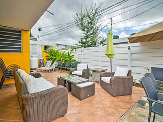 Most of your time will be spent in this great outdoor space.