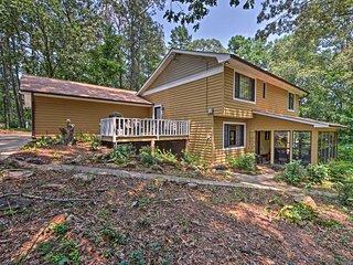 NEW! Idyllic 12-Acre ******* House by Lake Lanier!