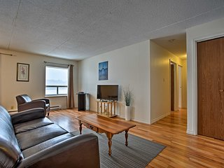 NEW! Blind River Apartment w/ River-View Balcony!