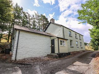 GWYNCOED FAWR, rural location, Welsh village, enclosed garden terrace.