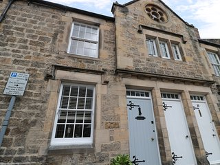 14 FRONT STREET, Grade II listed with beams, open-plan, Corbridge