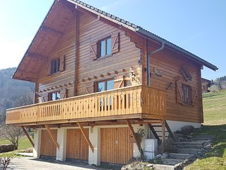 Chalet Habere-Poche: Large beautiful chalet, nestled in the Haute-Savoie region