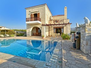 4 bedroom Villa in Asteri, Crete, Greece : ref 5666660