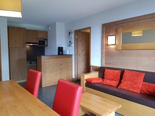 Appartement 3 pièces  8 personnes à Arc 1600 à côté des pistes et des commerces,