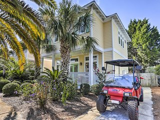 NEW! Santa Rosa Beach House w/Bikes, Deck & Grill!