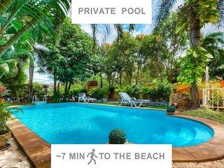 ♥Privat POOL villa♥ Beach Line♥ ZAZA