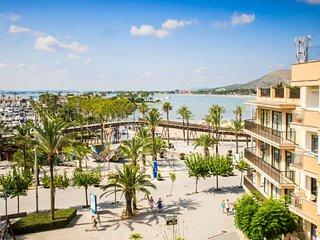 Precioso apartamento con vistas al mar en Puerto de Alcudia