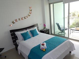 Apartamento Cartagena Morros Vitri 405, Frente playa