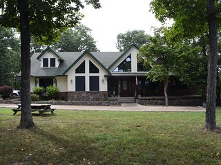 Five Star Custom 2 Story Ranch Home on private acreage with river frontage