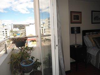 Balcón y Dormitorio principal