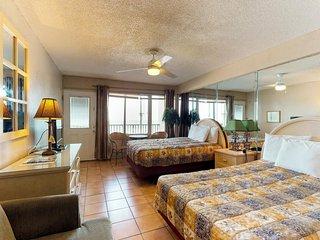 NEW LISTING! Waterfront Daytona Inn beach condo w/ shared pool overlooking beach
