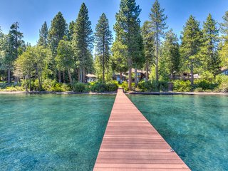Stunning Lakefront Home: Private Pier & More!