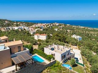 Aerial view of Villa Gerani Panorama
