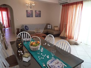 Modern apartment in Rethymno (50m from the beach)