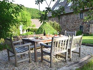 Dinner im Garten
