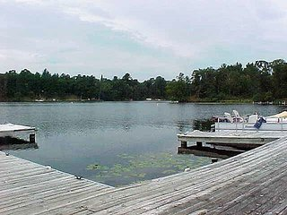 Beautiful A Frame Twin Home on Gull Lake  with all the amenities