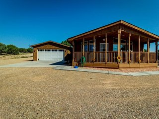NEW LISTING! Newly renovated cabin-style home w/ outdoor firepit, on 20 acres!