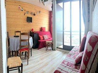 5 pers. 33 m² 7 étage Est