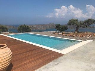 Villa & swimming pool,panoramic view Spinalonga, Mirabello, Kolokhita, Elounda