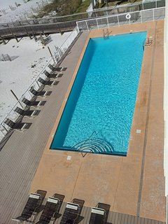 Spacious Heated Pool with Huge Deck Area
