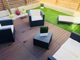 vivienda unifamiliar 3D, 2B, terraza y jardín + WIFI