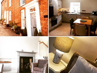 Luxury Self Catering Apartment in one of Ludlow's finest streets