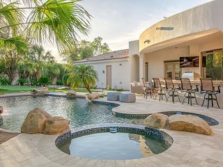 Sprawling 5BR Paradise Valley Estate with Resort Style Outdoor Amenities